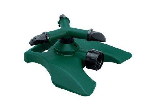 Orbit Revolving 3-Arm Lawn Sprinkler for Yard Watering Tri-Lingual