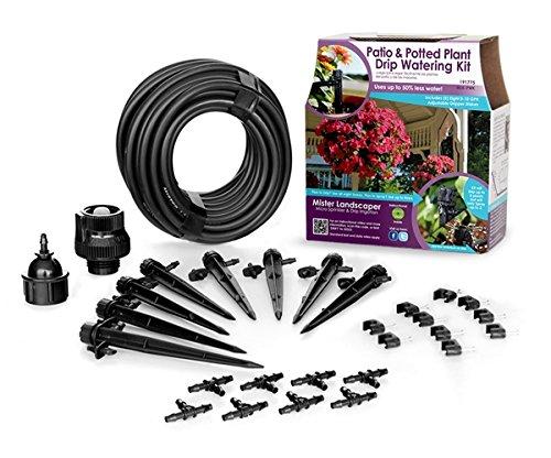 Mister Landscaper Mlk-pwk Patioamp Potting Plant Drip Irrigation Watering Kit