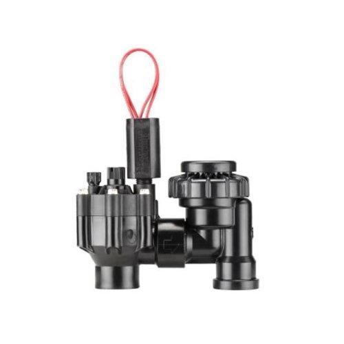 Hunter Sprinkler PGV101ASVS PGV Series 1-Inch Anti-siphon Slip by Slip Valve with Flow Control