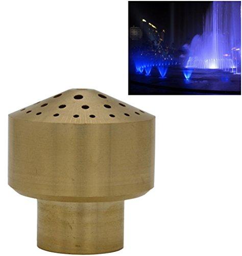 Brass Column Garden Square Fireworks Pool Pond Adjustable Fountain Nozzle Sprinkler Spray Head SSH328 34