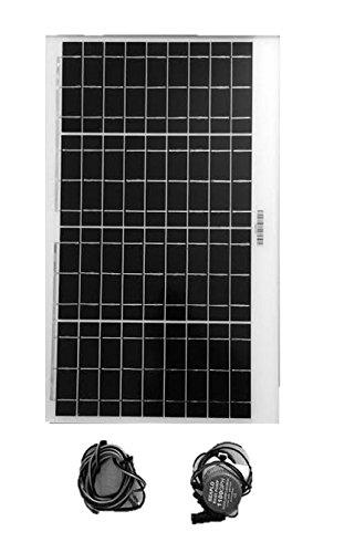 Amtrak Solar Water Fountain Pump with 35W Solar Panel
