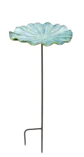 Achla Designs Small Lily Leaf Ii Birdbath With Stand