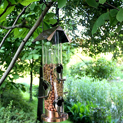 Wildbird Care Pet Supplies Hanging Plastic Tube Bird Feeder