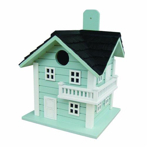 Home Bazaar Surf City Beach House Birdhouse Blue