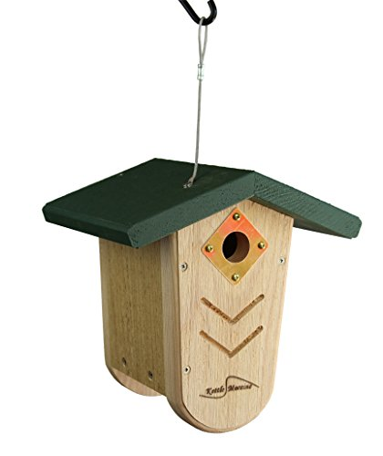 Kettle Moraine Hanging Moraine Bird House green Wrenamp Chickadee House