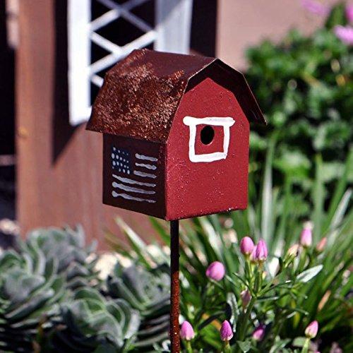 Miniature Fairy Garden Gambrel Barn Bird House