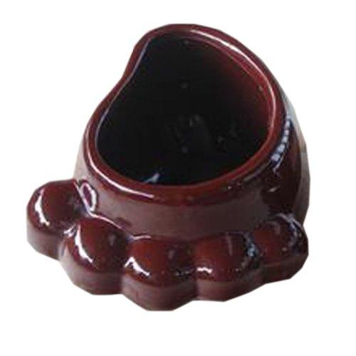 Creative Decor Lovely Garden Feet Earthenware Planter Flower Pot 2912 BROWN