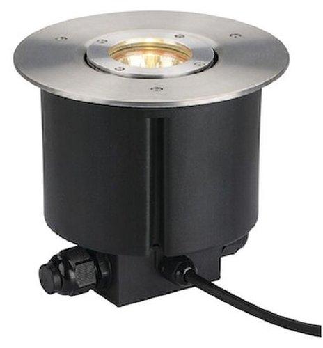 SLV Lighting 228360U Gimble Out 9 Recessed Ground Lamp Brushed Aluminum