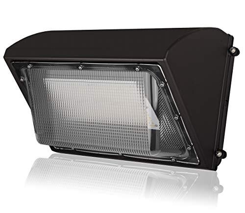 80W Led Wall Pack Light Fixtures 10800Lumens 5000K DLC UL Certified Commercial Security Lighting IP65 Outdoor Area Lighting Fixture
