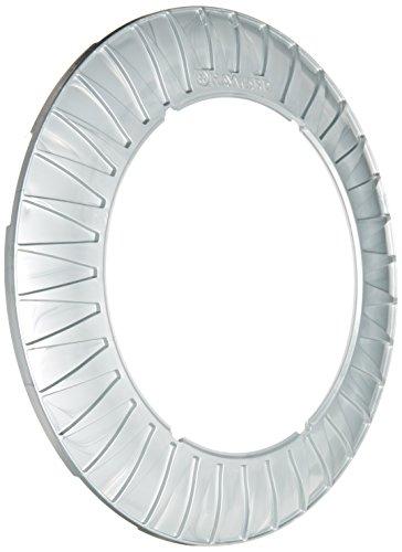 Hayward LNZUY1000 Gray Luster Starburst Pool Light Trim Ring Replacement for Hayward Universal ColorLogic or CrystaLogic LED Light Fixture