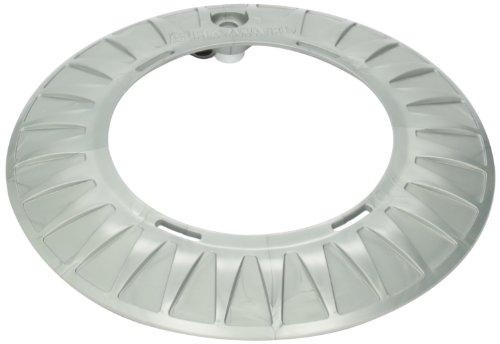 Hayward LQZUY1000 Gray Luster Starburst Spa Light Trim Ring Replacement for Hayward Universal ColorLogic or CrystaLogic LED Light Fixture