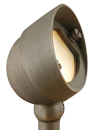 Hinkley Lighting 16571mz Hardy Island 35-watt T-3 Bi Pin Light Bulb Low Voltage Small Flood Light Matte Bronze