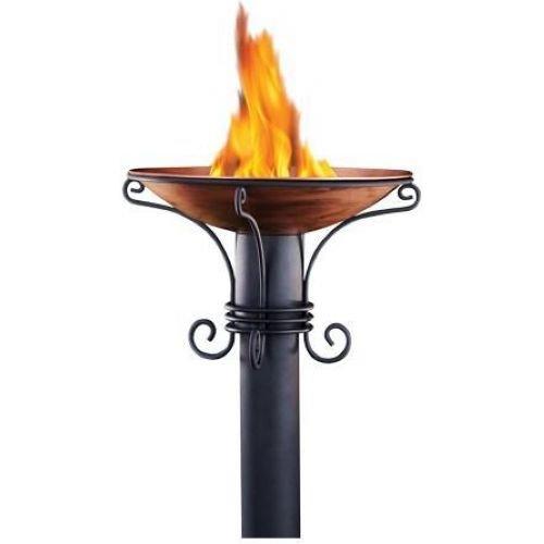 Hollowick TIKI Heritage Style 65 Aluminum Patio Torch
