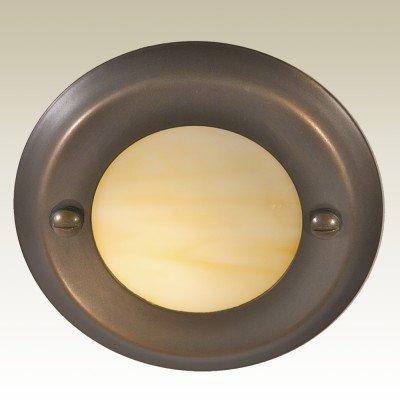 Highpoint Deck Lighting Hp-712r-mbr Berkley 12-volt Recessed Outdoor Deck And Step Light Fixture Antique Bronze
