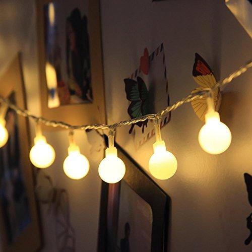 Led String Light Arespark Ball Fairy Light 33feet 100 Led Globe Waterproof Starry Light For Christmas Wedding