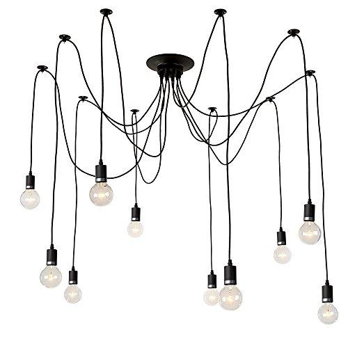 LNC Adjustable Pendant Lighting Modern Home Ceiling Light Fixtures for Kitchen Bedroom Living Room Dining Room