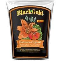 Sun Gro Horticulture 1402040 1 Cfl Pquotblack Gold&quot Naturalamp Organic Potting Soil 1 Cf