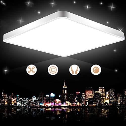 LED Ceiling Lights 28W Flush Mount Ceiling Light 2400lm 6500k Cold White 157- inch Ceiling Lamp for Kitchens Living Room Bedroom Office Study Bathroom Hallway