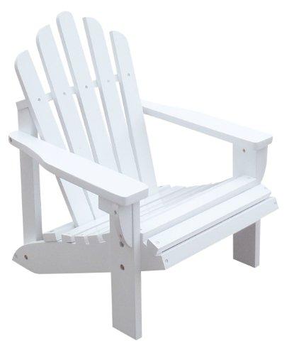 Shine Company Westport Kids Adirondack Chair White