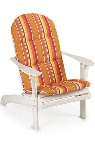 Bullnose Adirondack Outdoor Chair Cushion 2&quothx205&quotwx49&quotd Dolce Mango Sunbrella