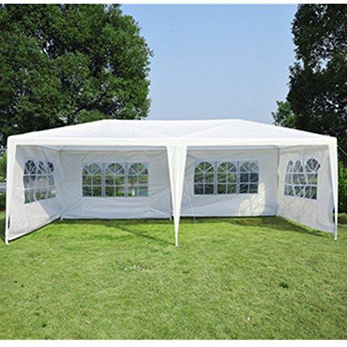 uscanopy 10x30 party wedding outdoor patio tent canopy heavy duty gazebo pavilion event