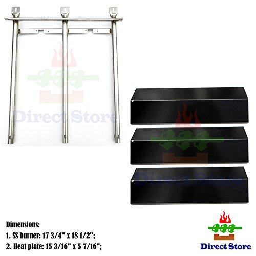 Direct store Parts Kit DG199 Replacement Sonoma CGR27 CGR27LP CGR30 CGR30LP Gas Grill Burners Heat Plate SS Burner  Porcelain Steel Heat Plate