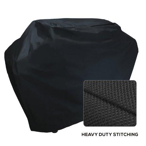 Khomo Panther Series Waterproof Heavy Duty Bbq Grill Cover Medium 58 X 24 X 48-inch Black