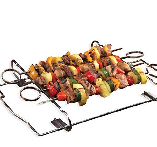 Kabob Set - 4 Skewers Grill Rack