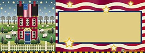 Betsys 1776 Flag Art-SnapsMagnetic Mailbox Art