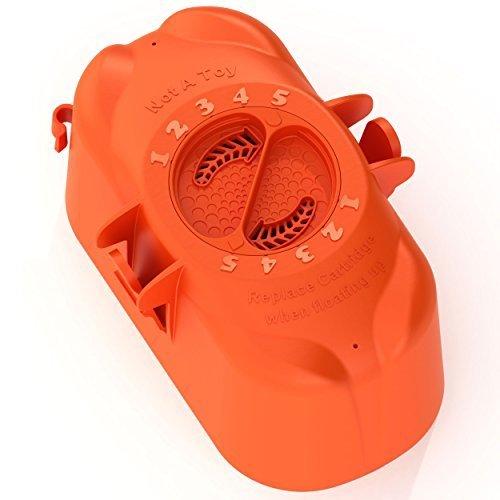 Flippin Frog XL Pool Sanitizer Replacement Chlorine Cartridge by King Technologies