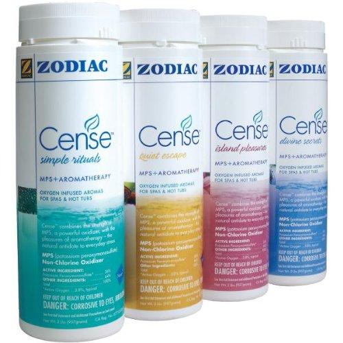 4 New Zodiac Nature 2 Spa Cense Non Chlorine Shockamp Aromatherapy Spa Pack