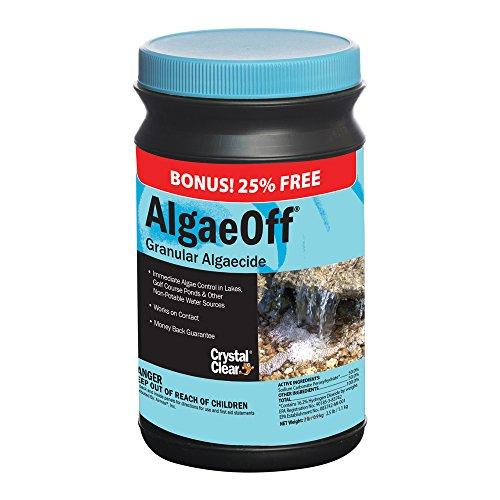 CrystalClear AlgaeOff California String Algae Remover 25 lb Jar