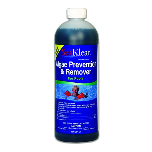 Seaklear 90 Day Pool Algae Preventer And Remover - 1 Quart