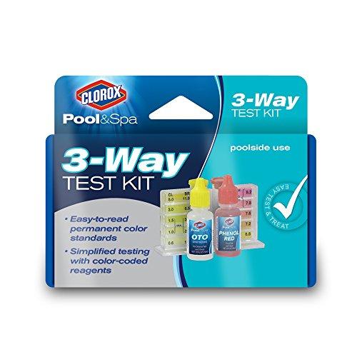 Clorox Pool&ampspa 70000clx 3-way Test Kit