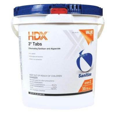Hdx 35 Lb 3 In Chlorine Tabs