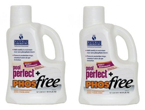 Natural Chemistry Pool Perfect Plus Phos-Free - 2 x 3 Liter