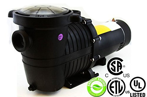 Energy Efficient Variable Speed 1 HP Swimming Pool Pump Strainer UL LISTED 2