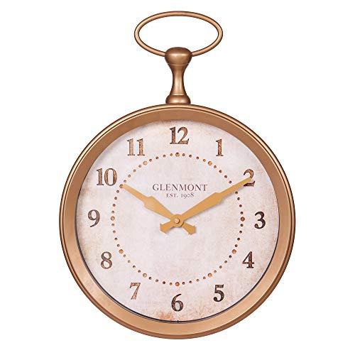 13 Glenmont Gold Pocket Watch Wall Clock
