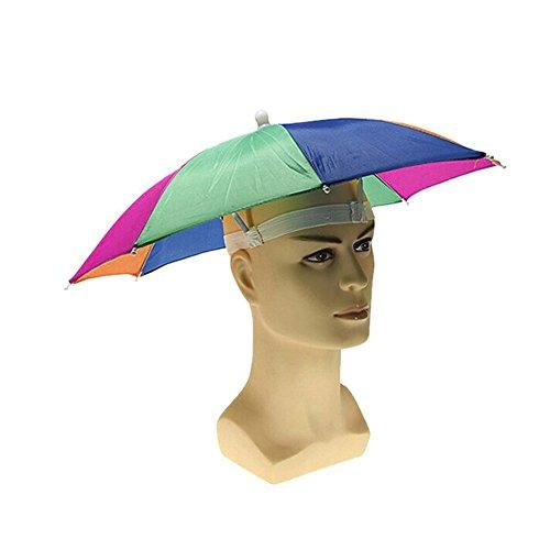 Ezyoutdoor Bucket Hat With String Foldable Outdoor Umbrella Hat Cap Sun Rain For Golf Fishing Camping Headwear