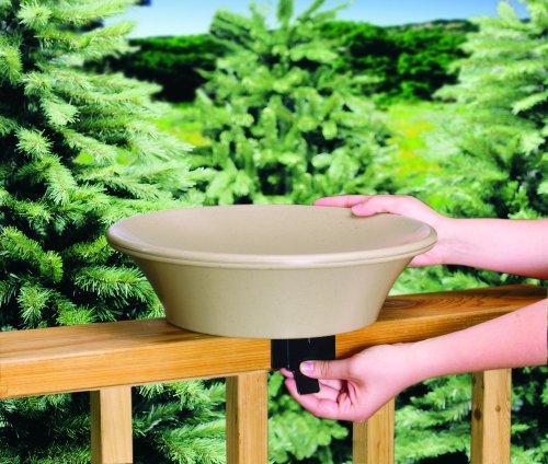 Allied Precision 14 in Non-Heated Bird Bath DeckPole