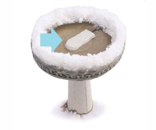K&h Pet Products Super Ice Eliminator Bird Bath Deicer 80 Watts 6.5 X 3.25 X 1 - Kh9001 By K&h Manufacturing