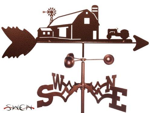 Farm Scene 8n 9n Ford Tractor Side Mount Weathervane ~new~