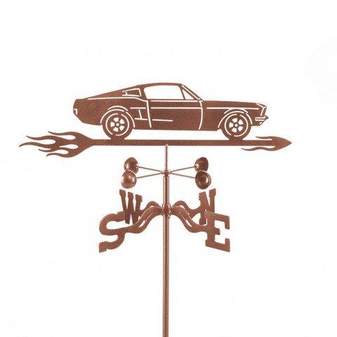 EZ Vane EZ1018-DK Mustang Car Weathervane with Deck Mount