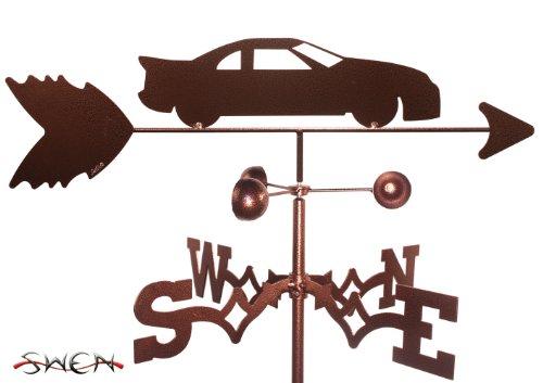STOCK CAR Weathervane