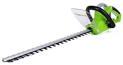 GreenWorks 2200102 4-Amp 22-Inch Corded Hedge Trimmer