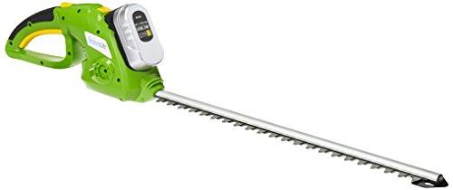 SereneLife Cordless Hedge Trimmer Electric Trimming Hedger for Trees Shrubs Plants Bushes 18 Volt PSLHTM36