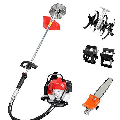 Robbey 2-Cycle Brush Cutter Gas String Trimmer Dewalt Pole Saw 4 in 1 Gas Hedge Trimmer