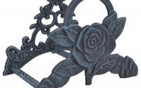 Garden-Water-Hose-Holder-Rose-Flower-Verdigris-Cast-Iron-Hanger-Reel-9-5-Wide-1.jpg