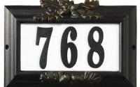 Qualarc-Inc-Edgewood-Misty-Oak-Lighted-Address-Plaque-Black-Frame-CMIST-1309-BL-19.jpg